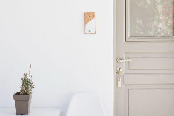 White and Grey Mykonos ornos